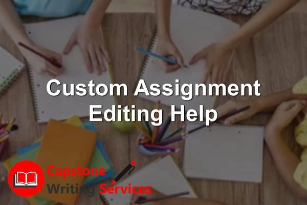 Custom Assignment Editing Help