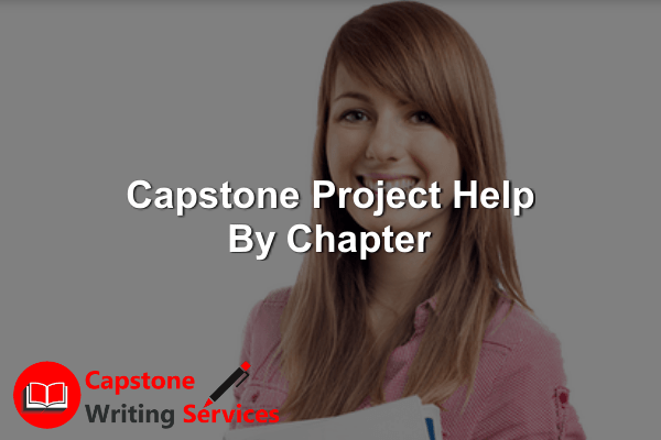 Capstone Project Help By Chapter
