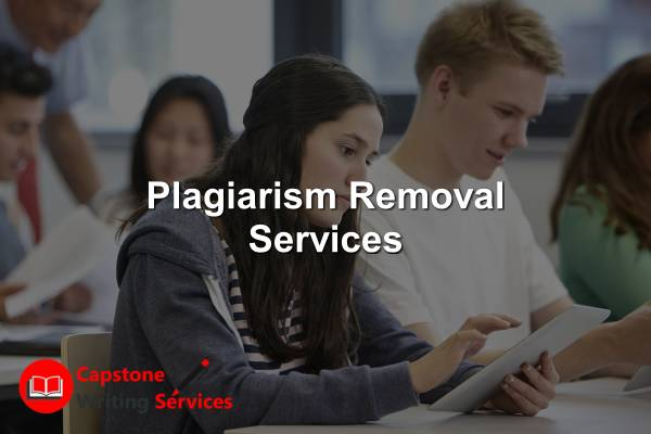 Plagiarism Removal Services