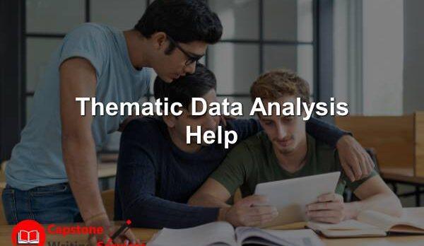 Thematic Data Analysis Help